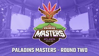 Paladins Masters 2018: Round Two - G2 Esports vs Spacestation