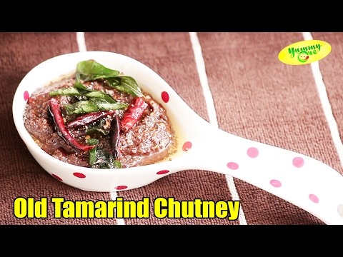 How To Make Old Tamarind Chutney || Yummy One