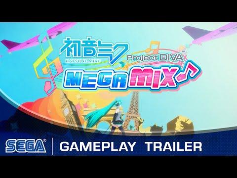 Hatsune Miku: Project DIVA Mega Mix | Gameplay Trailer