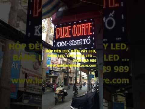 bien led quan cafe, den led nhay, bang hieu led, bang hieu quan cafe 33 views  0