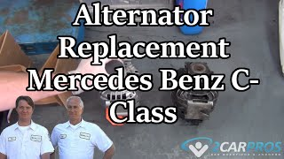 Alternator Replacement Mercedes Benz C Cl