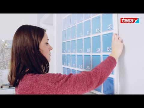 tesa DIY-Tipp: Wandkalender selbst gestalten