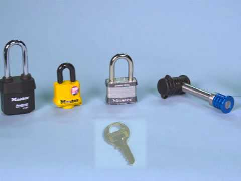Screen capture of Master Lock Keyed Alike Locks