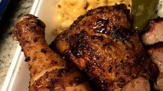 How To BBQ Chicken Leg Quarters   Pitmaker BBQ Vault Smoked Chicken