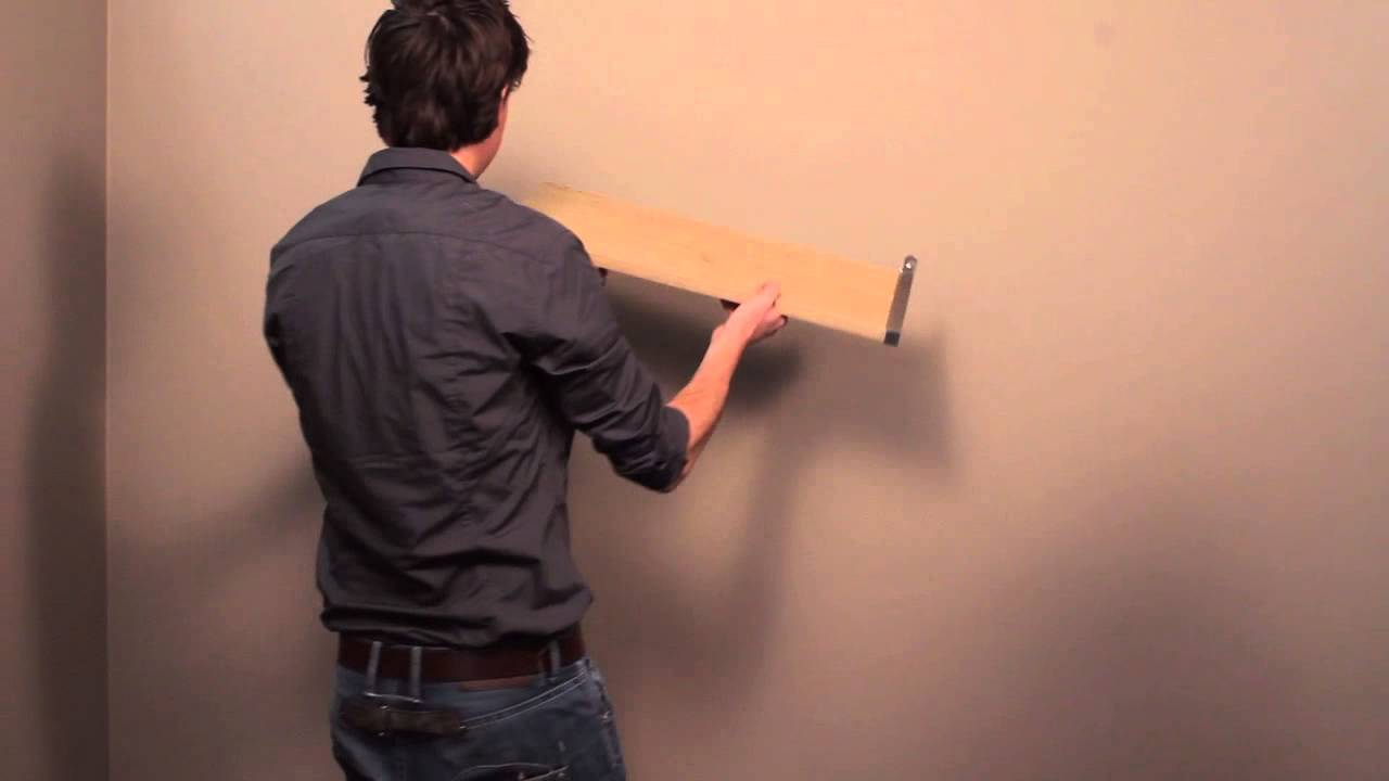 HOW TO: fixing a Duraline modern bracket to your wall