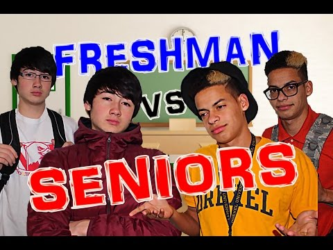 High School: Freshman vs Seniors