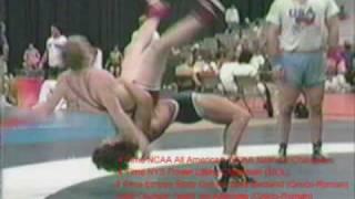 Fritz Zagorski Greco Roman Wrestling 5 point throws part 1