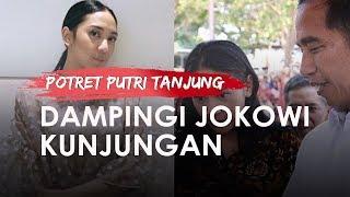 Dampingi Jokowi Kunjungan Kerja ke Subang, Inilah Potret Sederhana Putri Tanjung, Jauh dari Glamor