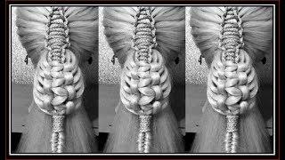 BEAUTIFUL MACRAME KNOT BRAIDS  / HairGlamour Styles / HAIR
