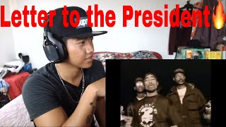 🔥REACTION!🔥2pac Letter To The President