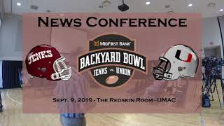 2019 Backyard Bowl News Conference