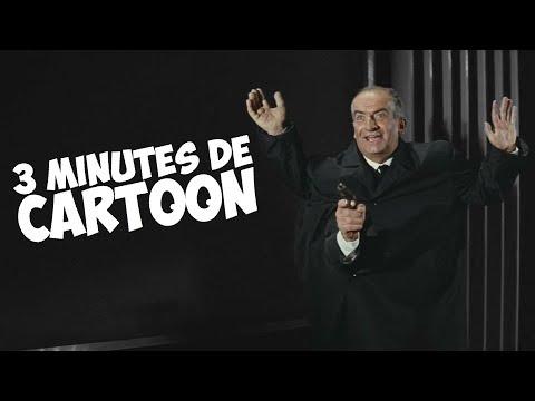 3 minutes de cartoon avec Louis de Funès !