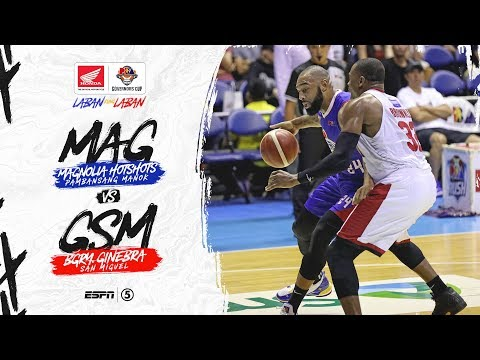 [Sport5]  Full Game: Magnolia vs Ginebra   PBA Governors' Cup 2019