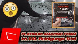 ENDLICH! PLATINUM AMAZING FOAM vom Mediashop Test - Auto waschen ohne Schrubben! Reinigungsleistung