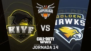 KIYF VS GOLDEN HAWKS | Superliga Orange COD | (Jornada 14)