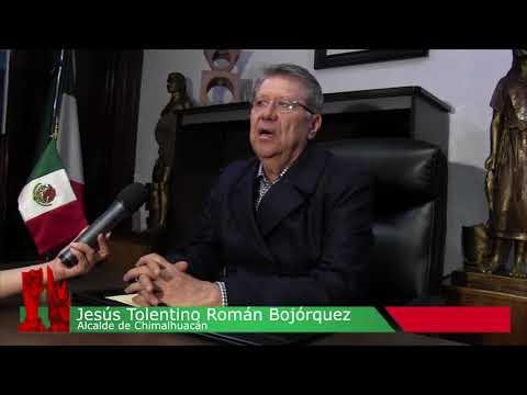 Mensaje del presidente municipal de Chimalhuacán, Jesús Tolentino Román Bojórquez