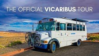 The Official Vicaribus Skoolie (Bus Conversion) Tour