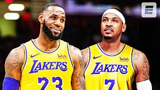 Carmelo Anthony Joins LeBron James On The Lakers!