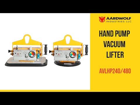 Thiết bị nâng chân không bơm tay AVLHP240/480