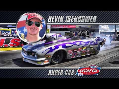 2018 Super Gas Champion Devin Isenhower