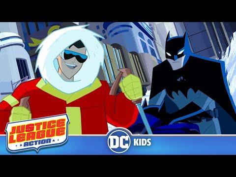 Justice League Action | Eezy Freezy | DC Kids