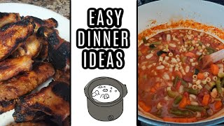 Our Dinners this week | Easy Meal Ideas
