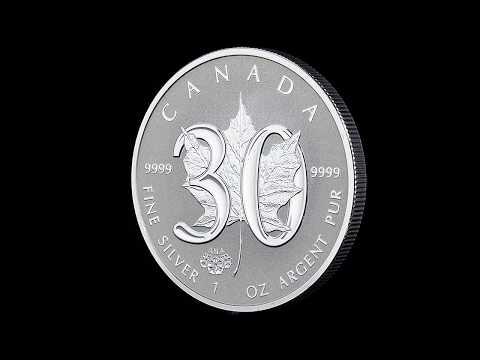 Video zum Silber Maple Leaf - 30 Jahre
