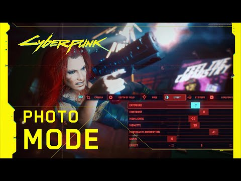Mode photo de Cyberpunk 2077