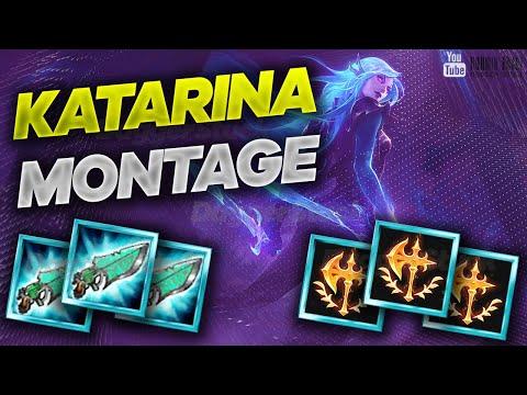 KATARINA MONTAGE #14 DaggerStuck! League of Legends