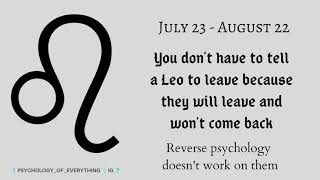 10 Interesting Personality Facts About LEO (Leo Zodiac Facts) Are You LEO?
