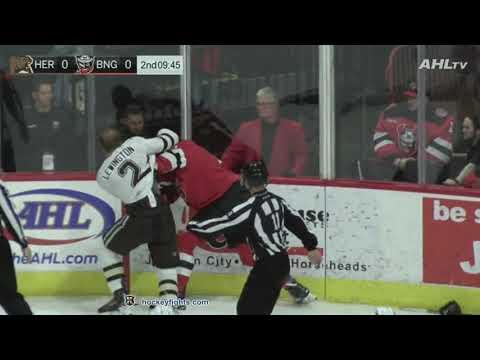 Brandon Baddock vs. Tyler Lewington
