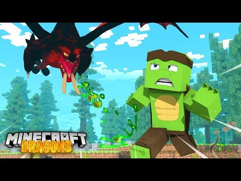 The DEATHGRIPPER DRAGONS are back for  REVENGE! - Minecraft Dragons