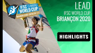IFSC Climbing World Cup Briançon 2020 - Lead Semi-Finals Highlights by International Federation of Sport Climbing