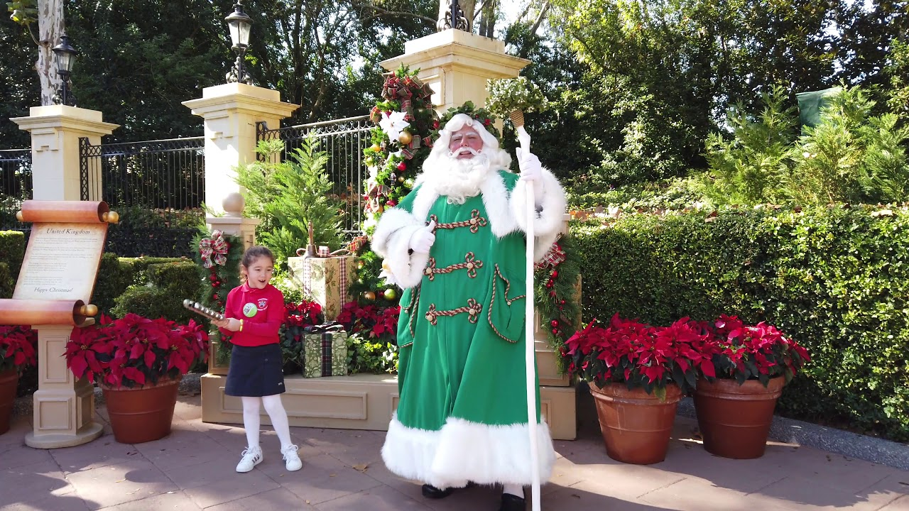 Father Christmas - Epcot Festival of the Holidays 2018