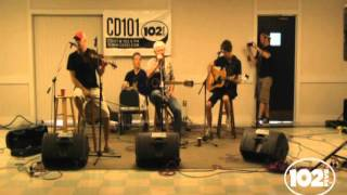 "Young Dubliners ""In The End"" in the CD102.5 Big Room"
