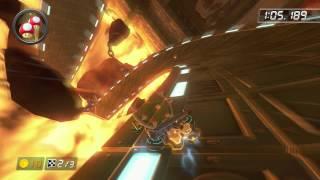 Bowser's Castle - 2:03.555 - あんちょび (Mario Kart 8 World Record)