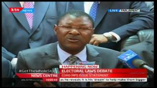 Moses Wetangula's full speech on the new electoral laws 22/12/2016