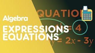 Expressions, Equations, Formulae & Identities   Algebra   Maths   FuseSchool