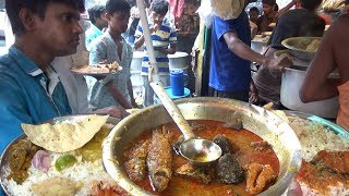 Incredible India | Lunch Starting @ 25 Rs Only | Rice With Veg | Rice With Fish | Rice With Chicken