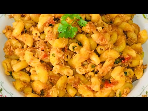 Egg macaroni in tamil| Pasta recipe in tamil| how to make pasta in tamil| Indian style