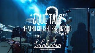DIVIDIDOS - ¿Qué Tal?. Teatro Coliseo 30/09/2016