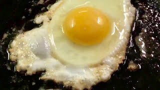 Egg Sizzling On The Blackstone Flat Top Griddle |  Live Stream ASMR Cooking Sound