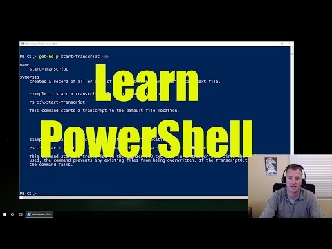 Microsoft PowerShell for Beginners - Video 1 Learn - YouTube