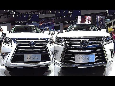 New Lexus LX 570 2016, 2017 interior, exterior VS Lexus GX 400/460 2016, 2017