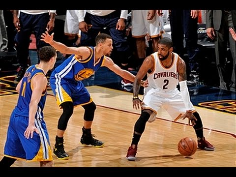 781db499eec0 Kyrie Irving Crosses Up Steph Curry!