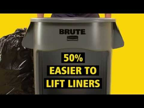 Product video for Vented BRUTE® Recycling 32 Gal Blue