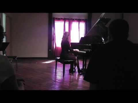 """2015 private recital, Debussy's """"The Snow Is Dancing"""""""