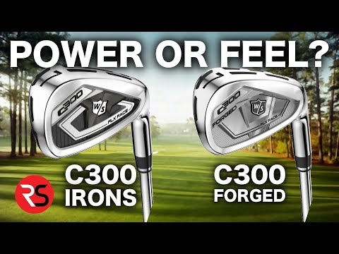 POWER OR FEEL? WILSON C300 & C300 FORGED IRONS REVIEW