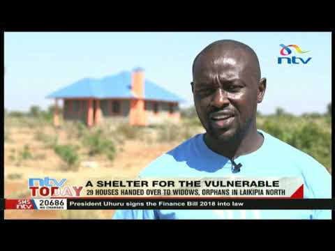 29 houses handed over to widows and orphans in Laikipia North