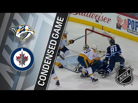 Nashville Predators vs Winnipeg Jets – Mar. 25, 2018 | Game Highlights | NHL 2017/18. Обзор